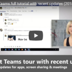 What's New in Microsoft Teams for 2018?