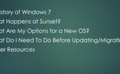 Are You Still Using Windows 7?