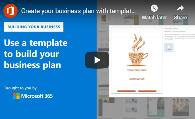 How To Utilize Microsoft Word's Business Plan Template