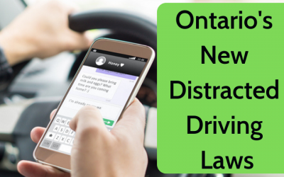 New Distracted Laws In Ontario – You Better Read This!
