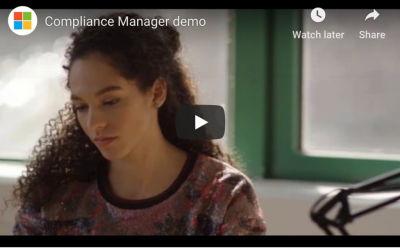 How Compliance Manager With Microsoft Office 365 Works