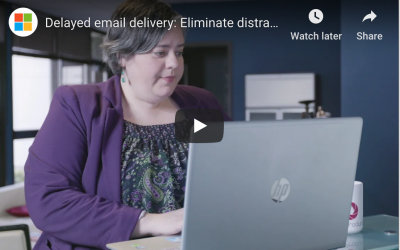 Using Delayed Delivery With Email to Boost Productivity