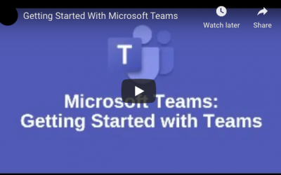 Getting Started With Microsoft Teams?